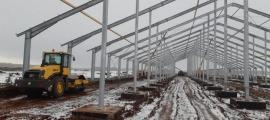 В Башкирском селе идет строительство крупного молочного комплекса